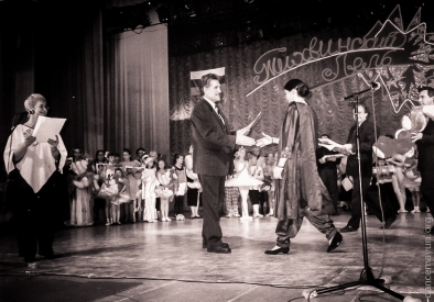 "All-Russian dance contest ""Tikhvinskiy Lel"", Tikhvin, Russia, 1998"