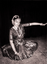 "Elena Fiskovets in ""Ganesha Natyalaya"" Dance Institution, Delhi, India, 1996"