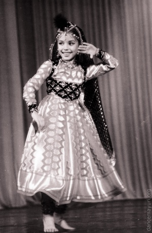 Сlassical item in Kathak