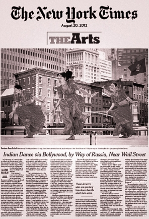 The New York Times, August 2012